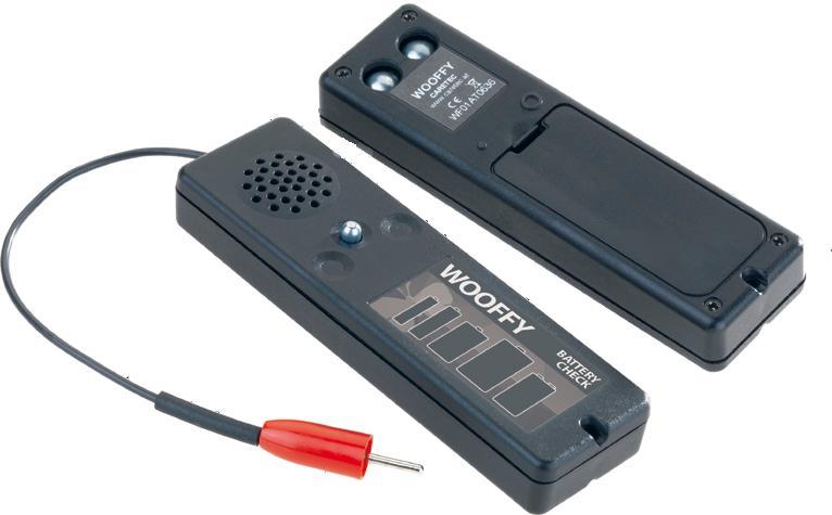 電池チェッカー ウッフィーの写真