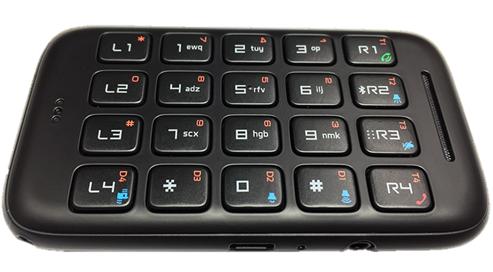 【製品写真】iPhone用Bluetoothテンキーボード Rivo2